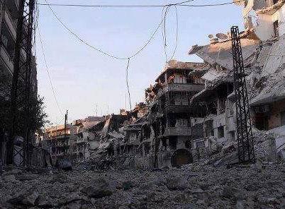 Humus Muhasara ve Yoğun Ateş Altında (VİDEO)
