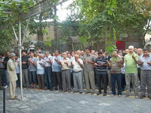 Kayseri'de O. Karahan İçin Gıyabi Cenaze Namazı