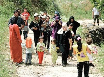 Lübnan'a Sığınan Suriyeli Aileler Zor Durumda