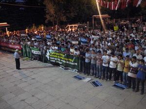 Halep Şehitlerimiz İçin Gıyabi Cenaze Namazı