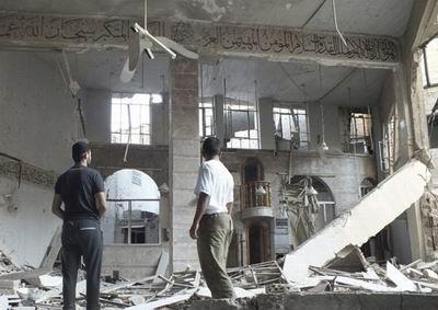 Esed Güçleri Camiyi Bombaladı!