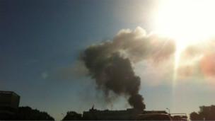Şamda Askeri Üsse Bombalı Saldırı