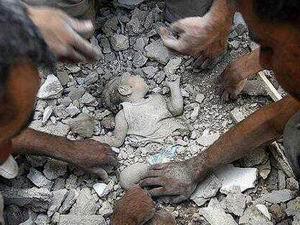 Halep-Azez'den Yürek Dağlayan Görüntüler