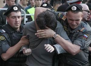Putin Karşıtı Gösteriye Hapis Cezası