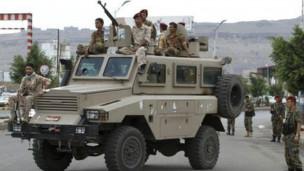 Direnişçiler Yemende İstihbarat Merkezine Saldırdı
