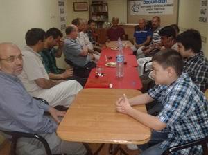 Özgür-Der Akhisar Gönüllüleri Bayramlaştı