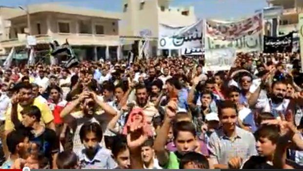 Suriyeli Müslümanlar Kahramanca Direniyor
