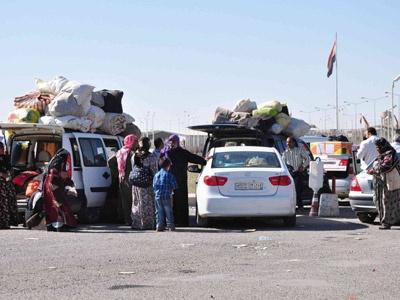 Altı Bin Suriyeli Öncüpınar Sınır Kapısında Mahsur