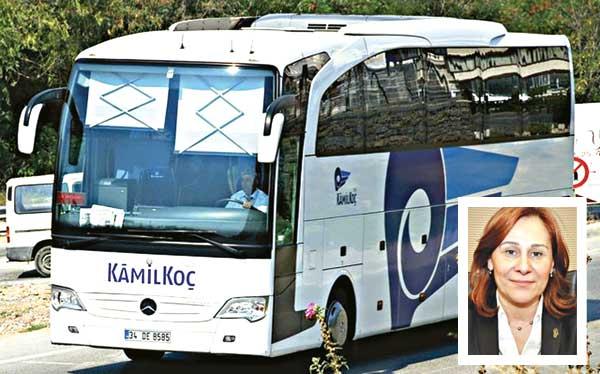 Kamil Koç'ta Namaz Yasağı