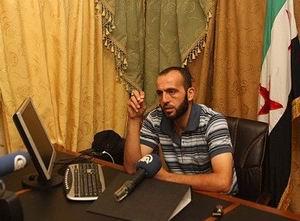 Suriyeli Muhalif Komutan AAya Konuştu