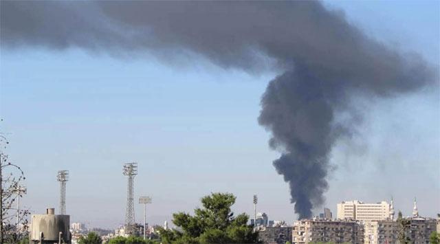 Şamda Genelkurmaya Bombalı Saldırı