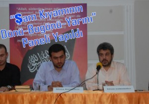 Köklü Değişim'de Suriye Paneli Yapıldı