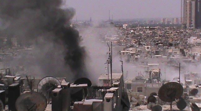 Halep ve Şam Ağır Bombardıman Altında