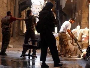 Halep'te Kare Kare Şehadet Anı (FOTO-VİDEO)