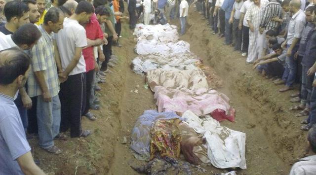 Suriyede Dün 146 Kişi Daha Katledildi (VİDEO)