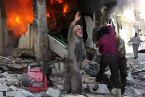 Şam ve Halep Ağır Silahlarla Bombalanıyor