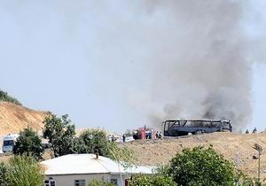 Bingöl'de Askeri Konvoya Saldırı