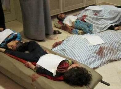 Pazartesi Günü 103 Suriyeli Katledildi