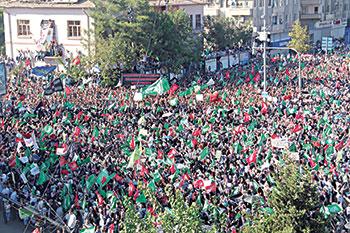 İğrenç Filme Diyarbakır'da Mitingli Protesto