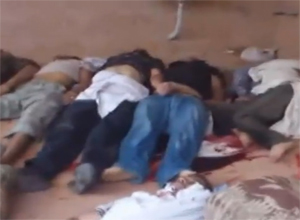 Esed Şamda Katliam Yaptı (VİDEO)