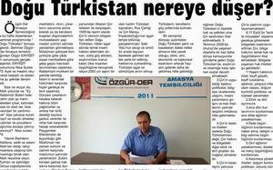 Doğu Türkistan Nereye Düşer