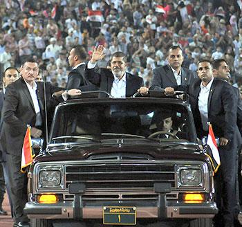 Muhammed Mursi, 100 Günün Hesabını Verdi