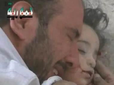 Suriyeli Babanın, Kızına Son Sarılışı (VİDEO)