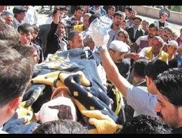 Altı Çocuklu Azize Evde Bombalandı
