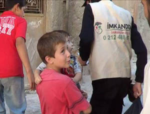İMKANDERden Suriye Halkına Yardım