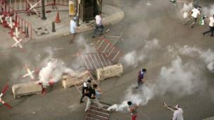 Lübnanda Cenazenin Ardından Çatışma Çıktı