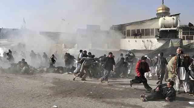 Afganistanda Camiye Bombalı Saldırı: 41 Ölü