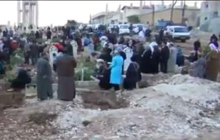 Suriyede Halk Bayrama Sokaklarda Girdi