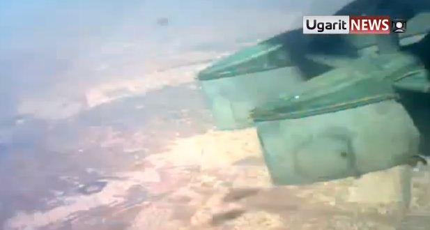Esed Güçleri TNTli Varil Bombası Kullanıyor