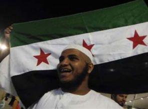 Şeytan Taşlama Sırasında Esed'e Protesto