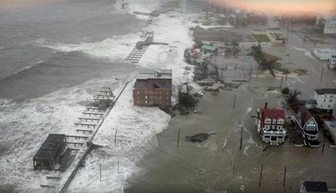 Sandy ABDyi ve Kanadayı Vurdu
