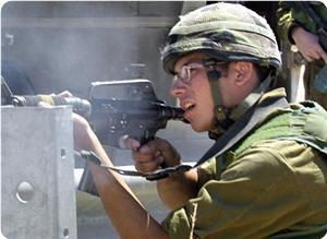 İsrail Araçları, Gazzelilerin Kampına Girdi