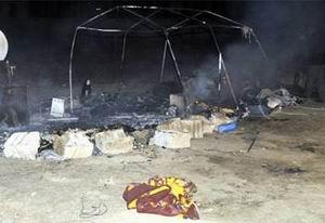 Çadır Yandı: Suriyeli Çocuk Öldü