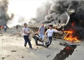 Suriyedeki Filistinli Mülteciler Ateş Altında