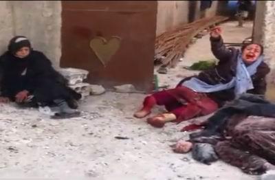 Deyr ez-Zor'da Pazar Yeri Vuruldu! (VİDEO)