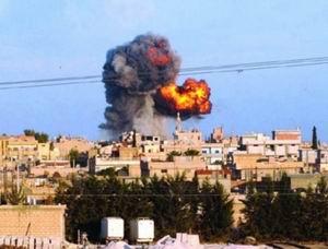 Jetler Ra'sulayn'a Bomba Yağdırıyor