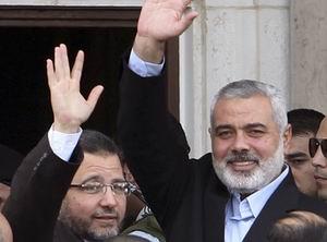 Mısır Başbakanı Hişam Kandil, Gazzede