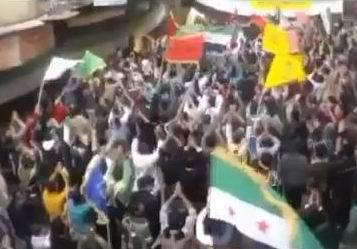 Suriye'den Cuma Gösterileri (VİDEO)
