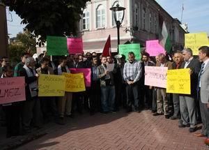 Bartında İsraili Protesto Eylemi Yapıldı