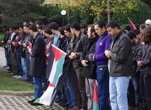 Şehir Üniv.'nde Gazze ve Suriye Duyarlılığı