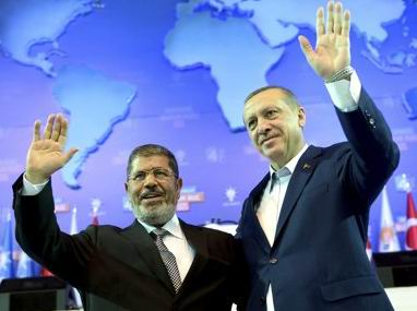 Erdoğan ve Mursiden İsraile Mesaj Var
