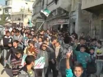 İdlib'in Özgür Çocuklarından Gazze'ye Selam (VİDEO)