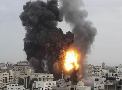 Siyonist İsrail Gazzede Yasak Silah Denedi