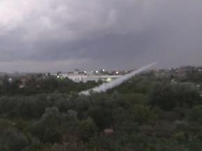 İsrail Lübnan'dan Atılan Rokete Karşılık Verdi