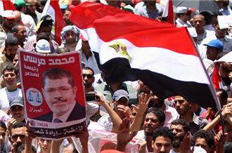 Binlerce Öğrenci, Mursi'ye Destek Verdi