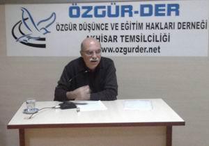 Özgür-Der Akhisar Seminerlerinde Bu Hafta
